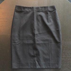 Banana Republic black pencil skirt 4 NWT